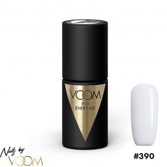 VOOM 390 UV Gél Lak Swiss Snow