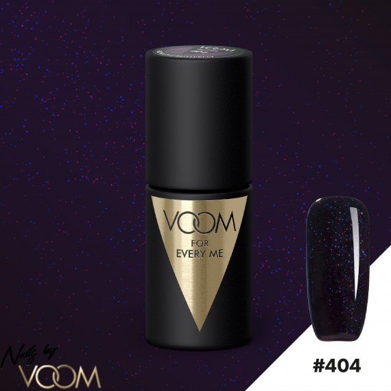 VOOM 404 UV Gél Lak Midnight Butterfly