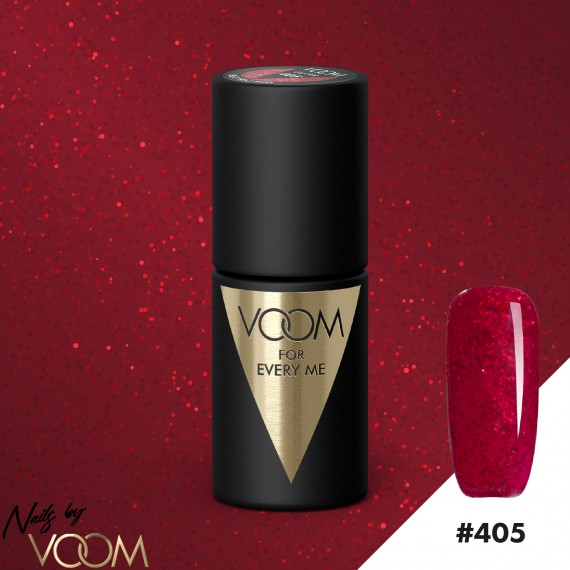 VOOM 405 UV Gél Lak Electric Red